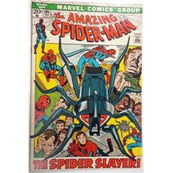 the AMAZING SPIDER-MAN MARVEL Comics Group #105  FEB 1972   F