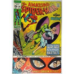 the AMAZING SPIDER-MAN MARVEL Comics Group #94  MAR 1971  VF/NM