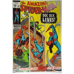 the AMAZING SPIDER-MAN MARVEL Comics Group #89  OCT 1970   F