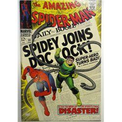 the AMAZING SPIDER-MAN MARVEL Comics Group #56  JAN 1968  VF