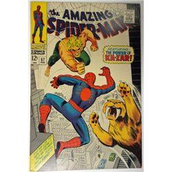 the AMAZING SPIDER-MAN MARVEL Comics Group #57 FEB 1968  VF
