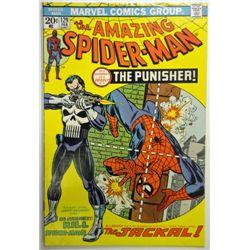 the AMAZING SPIDER-MAN MARVEL Comics Group #129   FEB 1974  VG