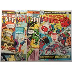 4 - 1976 The Amazing Spider-Man Comic Lots