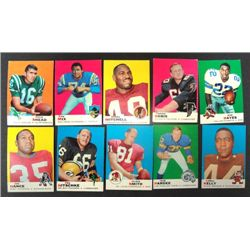 100 - 1969 Topps Football Cards - Mostly EX