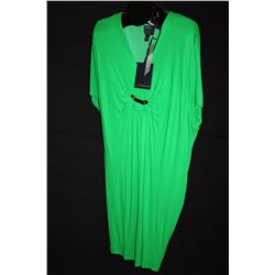 Roberto Cavalli emerald green dress, size 8