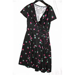 Moschino strawberry print dress, size 10