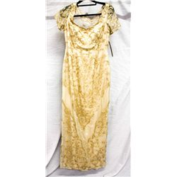 Stephen Yearick lace and beads gown, size 12