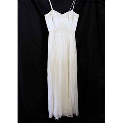 Lot [1] DRESS: [1] Spaghetti straps chiffon lace, size M