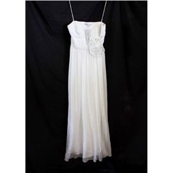 Lot [1] DRESS: [1] Yolanda gown with gather bust, size 10