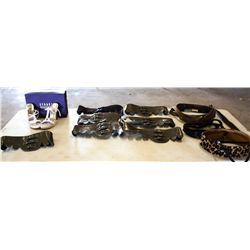 Lot BELTS & SHOES:  Stuart Weitzman shoes and assorted belts