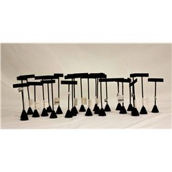 LOT EARRING STANDS