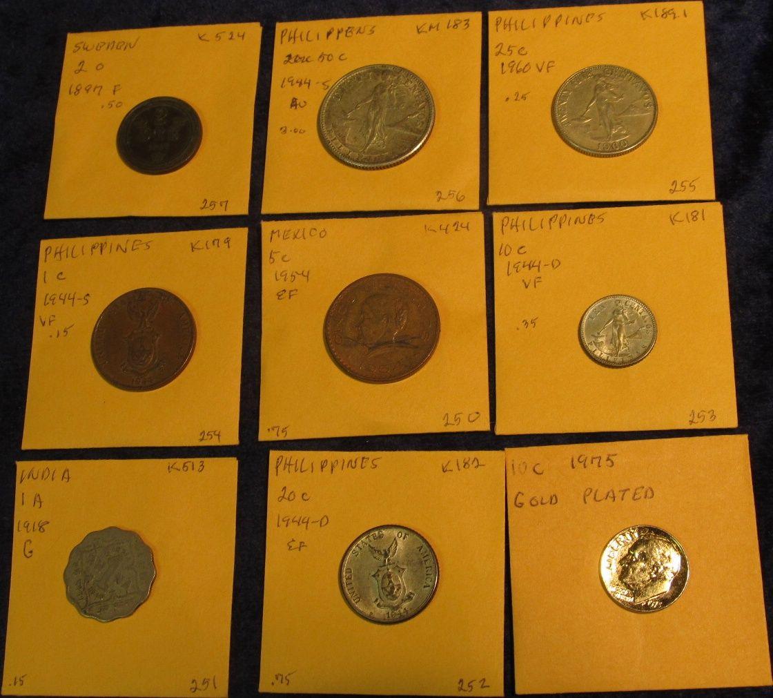 398  1975 Roosevelt Dime 24K Gold-plated