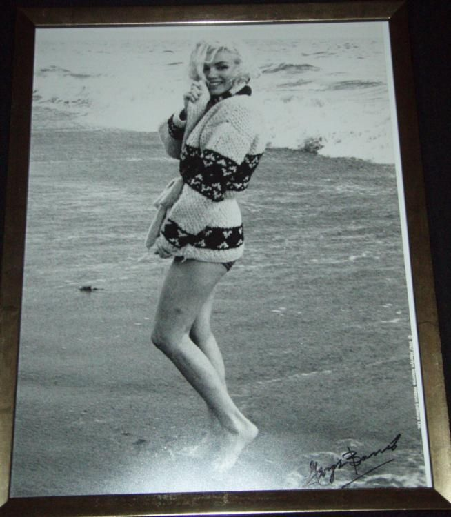 d79d4c127d Loading zoom · Image 1 : Marilyn Monroe Photograph Signed by George Barris- Beach