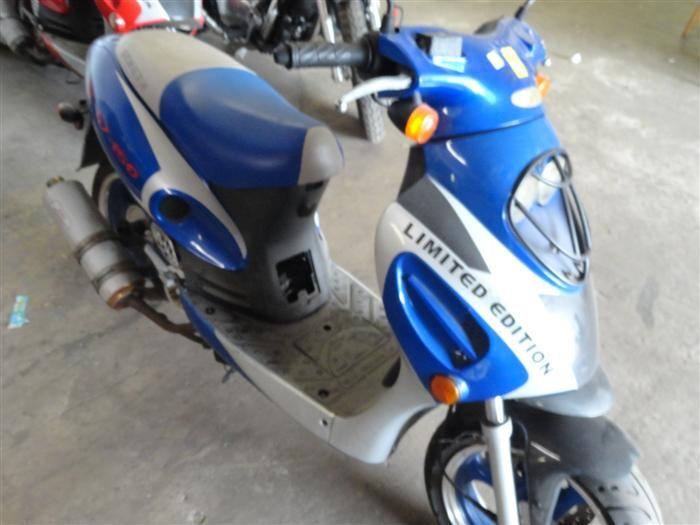 2007 Bashan Roketa LTD  Edition #MC-07-150 147cc 4 Stroke Scooter Won't  Start
