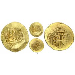 Mexico City, Mexico, cob 8 escudos, Philip V, assayer J (style of 1711-13), from the 1715 Fleet.