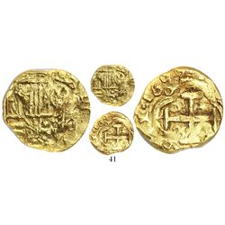 Bogota, Colombia, 2 escudos, 1692, assayer not visible (A to right), mintmark (NR) to left, from the