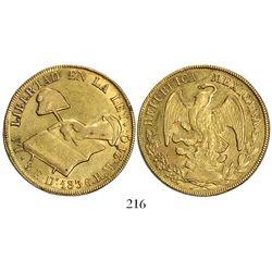 Durango, Mexico, 8 escudos, 1836RM.