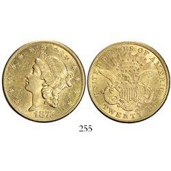 USA (Carson City mint), $20 coronet Liberty, 1875-CC.