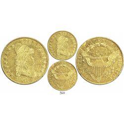 USA (Philadelphia mint), $10 capped-bust Liberty, 1801.