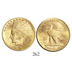 USA (Philadelphia mint), $10 Indian, 1910.