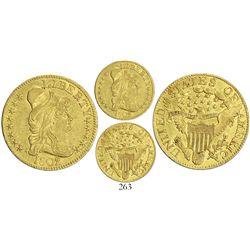 USA (Philadelphia mint), $5 capped-bust Liberty 1802/1.