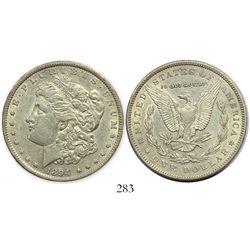USA (Philadelphia mint), $1 Morgan, 1894, rare.