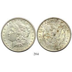 USA (New Orleans mint), $1 Morgan, 1896-O.