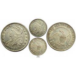 USA (Philadelphia mint), 50 cents bust half, 1817.