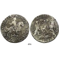 "Zeeland, United Netherlands, ""rider"" ducatoon, 1659."