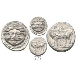 Mysia, Parion, AR hemidrachm, ca. 400-300 BC.