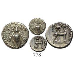 Phoenicia, Arados, AR drachm, circa 172/1-111/0 BC.