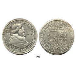 Austria (Holy Roman Empire), thaler, Archduke Leopold, 1621, Ensisheim mint.