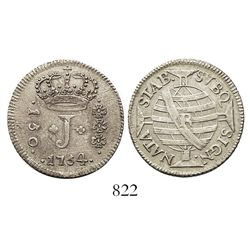Brazil (Rio mint), 150 reis, Jose I, 1754-R.