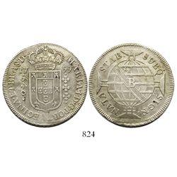 Brazil (Bahia mint), 640 reis, Maria I, 1799-B.