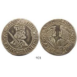 Saxony (German States), Annaberg mint, 1 thaler (klappmützentaler), Friedrich III (the Wise) with Jo