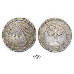 Honduras (Central America Republic), 2 reales, 1831TF.