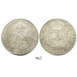 Mexico City, Mexico, bust 4 reales, Charles III, 1782FF.