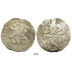 """Gelderland, United Netherlands, """"lion"""" daalder, 1641."""