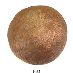 Small bronze cannonball.