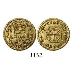 Lisbon, Portugal, 1000 reis, Joao V, 1720.