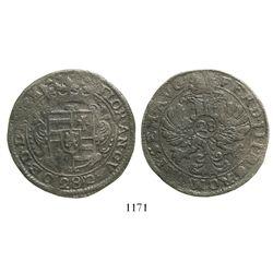 Emden, Germany (Holy Roman Empire), 28 stuber (2/3 thaler), Ferdinand III (1637-1657).