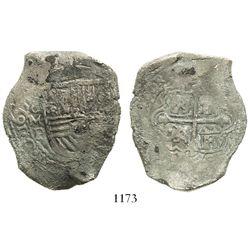 Mexico City, Mexico, cob 8 reales, 165(3)P.