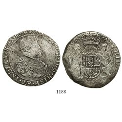Brabant, Spanish Netherlands (Antwerp mint), portrait ducatoon, Philip IV, 1648.