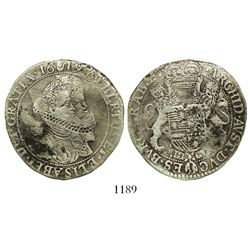 Brabant, Spanish Netherlands (Antwerp mint), portrait 1/2 ducatoon, Albert and Isabel, 1619.