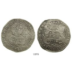 Brabant, Spanish Netherlands (Antwerp mint), portrait ducatoon, Charles II, 1666.