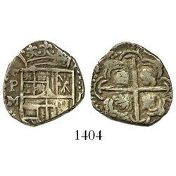 Potosi, Bolivia, cob 1 real, Philip III, assayer M.