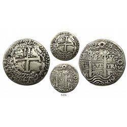 Potosi, Bolivia, cob 8 reales Royal, 1709Y.