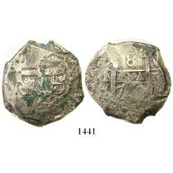 Potosi, Bolivia, cob 8 reales, 1760V-Y.