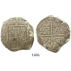 Seville, Spain, cob 4 reales, 1595/?B.