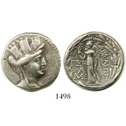 Phoenicia, Arados, AR tetradrachm, ca. 137-46 BC, dated year 163 (97/96 BC).